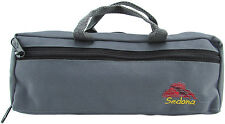 Sedona Canvas Piccolo Case Cover/Bag with Fleece Lining - Mystic Gray