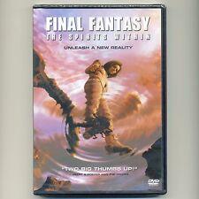 Final Fantasy The Spirits Within 2001 PG-13 sci-fi family movie, new DVD Baldwin