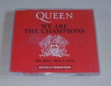 QUEEN We Are The Champions CD Single 1996 2trk CHAMP 1 EMI Music Holland Red