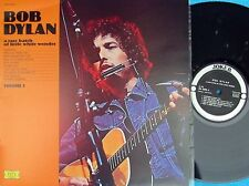 Bob Dylan ORIG ITA LP A rare batch of little white wonder VOL 1 EX Joker '74