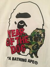 BATHING APE X DOVER STREET MARKET YEAR OF THE DOG SIZE L TEE T-SHIRT DSM BAPE