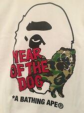 Bathing Ape X Dover Street Market Year of The Dog Size L Tee T-shirt DSM BAPE
