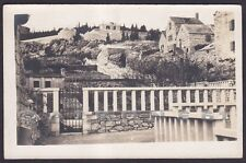 CROAZIA SPALATO 12 Hrvatska SPLIT Cartolina FOTOGRAFICA viaggiata 1928