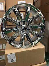 "(4) New 24"" 2016 Chevy Tahoe Replica Wheels OE 24"" Chrome Silverado Tahoe GMC"