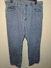 Men's Wrangler 40 x 32 Denim Jeans  Light Wash