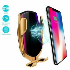 Qi Wireless Car Charger Apple Mount Air Vent Holder iPhone XS Max XR X 8 plus