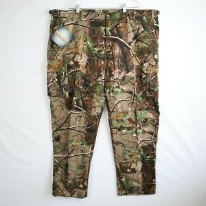NWT Game Winner Dura Soft Camouflaged Men's Cargo Hunting Pants Size 3XL