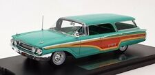 Goldvarg 1/43 Scale GC-016A - 1960 Mercury Cruiser - Turquoise