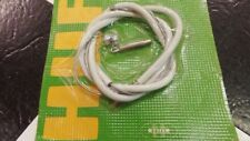 """1 White NOS 3 Speed Huffy Sturmey Archer 25"""" Muscle Bike Shifter Cable Set"""