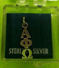 Sterling Silver Alpha Phi Omega Lavalier