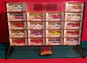 Racing Collectables Club Of America 1963 Legends Series 1:64 18 Cars+Stand