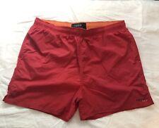 Izod PFX Men's Swim Trunks Large Red Orange