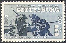 USA 1963 guerre civile américaine/Gettysburg/soldats/BATAILLE/militaire 1 V (n42830)