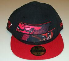 New Era Cap Hat Chicago Bulls Wolverine fitted 7 1 2 Fitted NBA Basketball  New 5e91614597