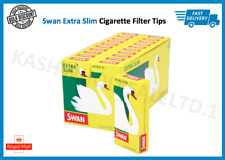 SWAN EXTRA SLIM PRE CUT CIGARETTE FILTER TIPS - MULTI LISTING