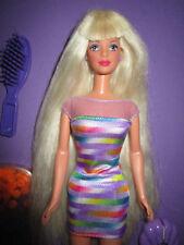 B391-Rare vieja rubio bead Blast barbie #18888 mattel 1998 completo de accesorios