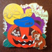 Authentic Disney Parks Chip & Dale LIMITED to 1300 HALLOWEEN 2003 Trading Pin