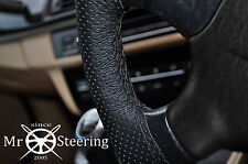 FOR DATSUN 280ZX 1976–1983 PERFORATED LEATHER STEERING WHEEL COVER DOUBLE STITCH