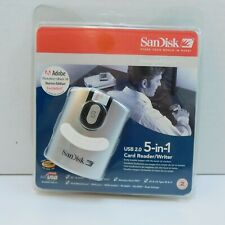 SanDisk ImageMate USB 2.0 5-in-1 Card Reader/Writer SDDR-99-A15 NEW