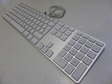 Apple A1243 (MB110D/B) Alu - deutsche (QWERTZ) Tastatur mit Ziffernblock