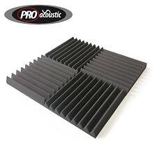 """24x AFW305 Acoustic Foam Tiles 12"""" x 12""""  Home Cinema Audio Sound Treatment UK"""