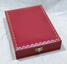 CARTIER Box Case Container Jewellery Jewelry Accessories Santos Roadster Pasha /