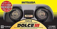 Mitsuba Dolce III 3 HOS-07B Car Horn a Low Tone Bass Sound japan new