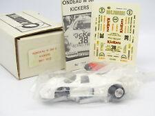 Silhouette Kit à Monter 1/43 - Rondeau M382 C Kickers Le Mans 1982