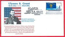 Ulysses S. Grant Celebrate his 190th birthday Born 1822 Died 1885 Ohio