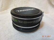 Tamron Mc Tele Converter 2x Para Minolta-Md