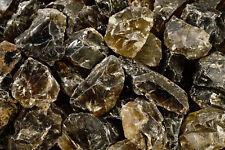"NATURAL Smoky Quartz Crystal 2"" Set of 2 Root Chakra Healing Reiki Raw Gemstone"