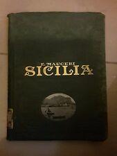 SICILIA E MALTA MAUCERI UTET 1928
