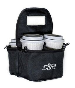 DrinkCaddy - Portable drink carrier, reusable cup holder and drink holder.