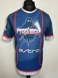 Rhino Sports Prophecy Grim Reaper Online Gaming Games Jersey Shirt L Large