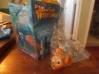 Finding Nemo McDonalds Happy Meal Toy 2003 NIP + Bonus Happy Meal Carton Box