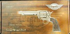 Elite Force Legends Smoke Wagon Nickel 6mm Airsoft Replica Revolver NEW