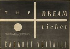19/11/83PN56 ADVERT: CABARET VOLTAIRE SINGLE THE DREAM TICKET 7X11