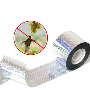 90M Garden Bird Repellent Deterrent Scare Tape Holographic Reflective Deterrent