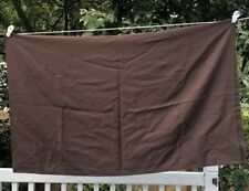 Vintage Fabric Brown Double Knit Remnant
