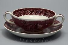 Minestre tazza con inferiore Wedgwood Ferrara Viola