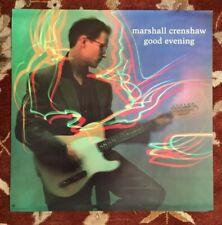Marshall Crenshaw Good Evening rare original promotional poster
