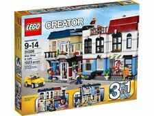 LEGO Creator Bike Shop & Café Set 31026 Brand New in the Box!