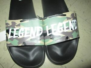 UNBRANDED Mens LEGEND Camouflage Vacation Resort Sandals 8 9 8/9 NWT **