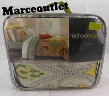 Echo Design Home Jaipur 100% Cotton KING Duvet Cover & Shams Set