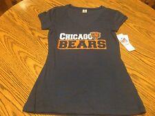 Chicago Bears NFL Women's Blue Sleepwear T-Shirt Size Small - NWT