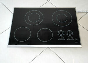 """WOLF MODEL CT30E/S 30"""" ELECTRIC TOUCH CONTROL COOKTOP BLACK/STAINLESS - NICE!!"""