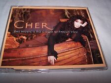 The music's no good without you by Cher - CD Single Dance Pop WEA