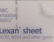 1 mm A4 Lexan Polycarbonate sheet 297 mm x 210 mm Virtually unbreakable glazing