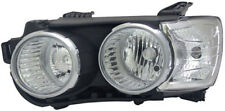 Black chrome finish Left side headlight for CHEVROLET Aveo from  2011