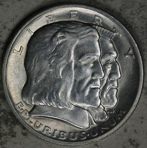 Beautiful Uncirculated 1936N Long Island Silver Commemorative Half Dollar!